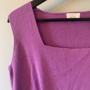 2/$18 Cotton Ginny / Lavender / Sleeveless Sweater